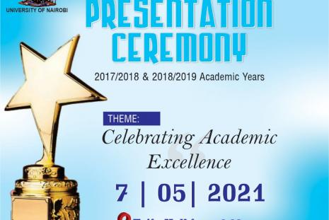 Prize giving ceremony for students with outstanding academic performance (academic years 2017/2018, 2018/2019) on Friday, May 7, 2021 from 9.00 am.